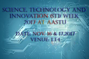 Science, Technology and Innovation (STI) Week 2017 at AASTU