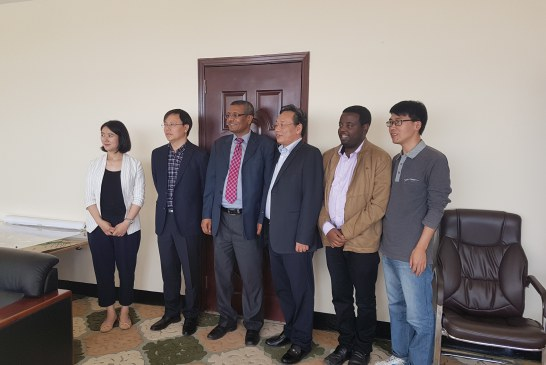 HRC, Ministry of Water Resources of China (Hangzhou Regional Center (Asia-Pacific) Visits AASTU