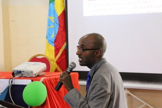 Professor Gobena Ameni @ AASTU Annual Conference