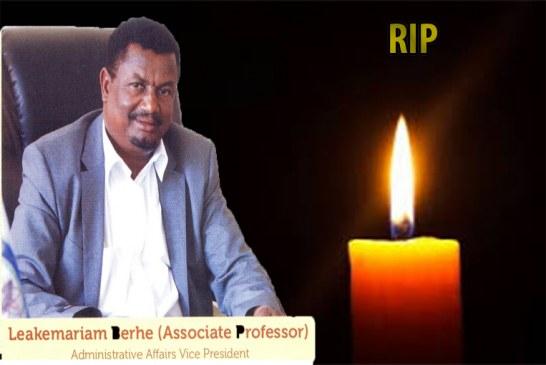 Statement of Condolences