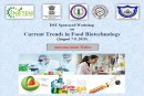 Workshop invitation on Current trends in food biotechnology
