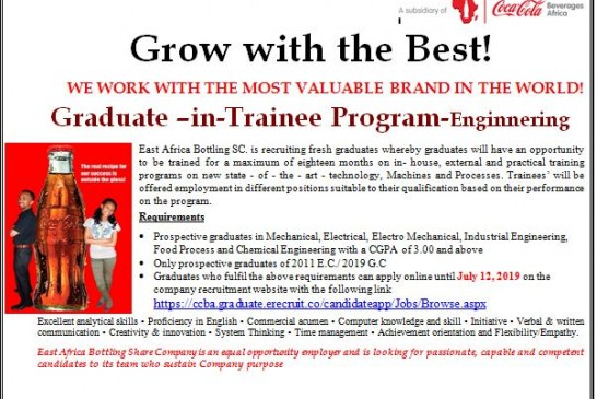 Graduate –in-Trainee Program-Engineering